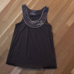Tops - Beaded Tank Top